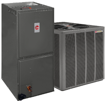 Rheem furnace and Rheem air conditioner
